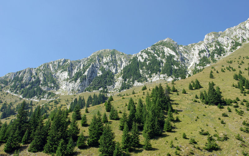 montagnes roumaines images stock