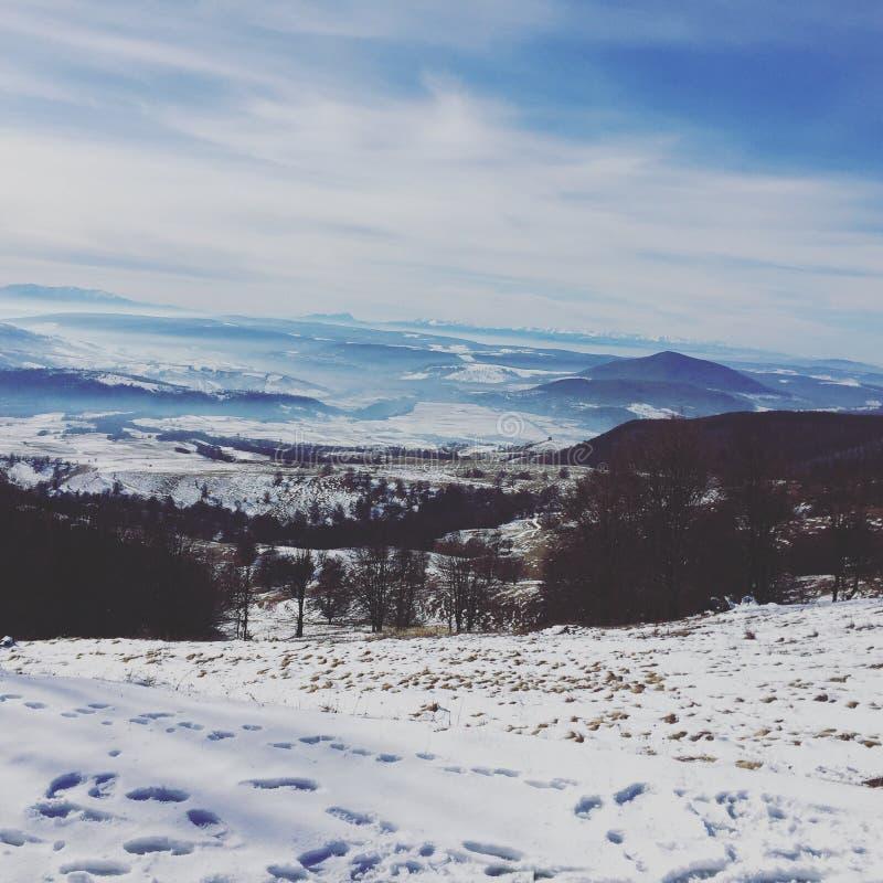 Montagnes, Roumanie photographie stock libre de droits