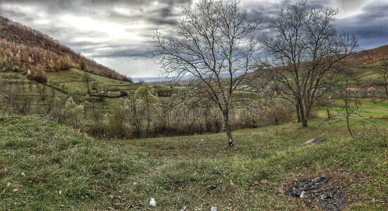 Montagnes, Roumanie image libre de droits