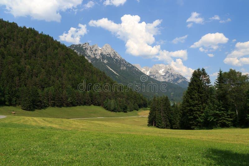 Montagnes sauvages de Kaiser photos libres de droits