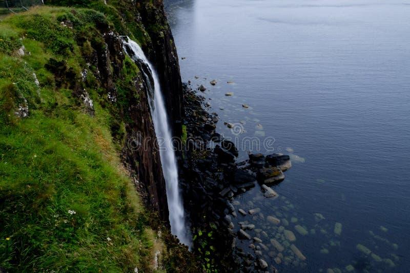 Montagnes Skye de roche de kilt photo stock