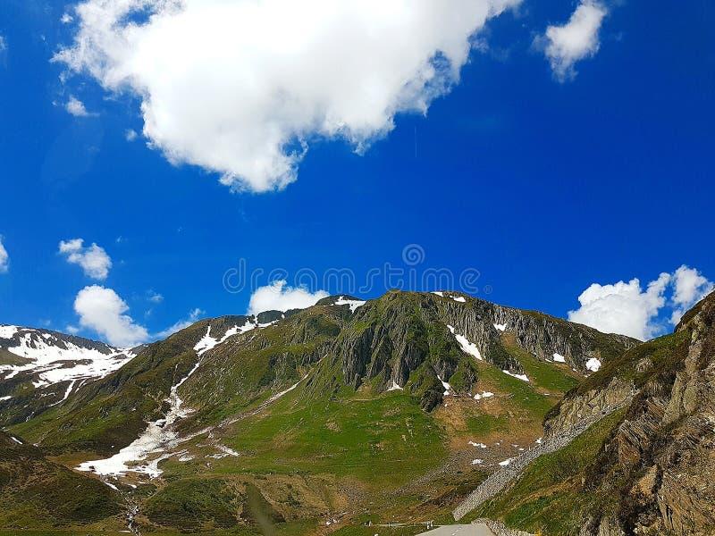 Montagnes suisses images stock