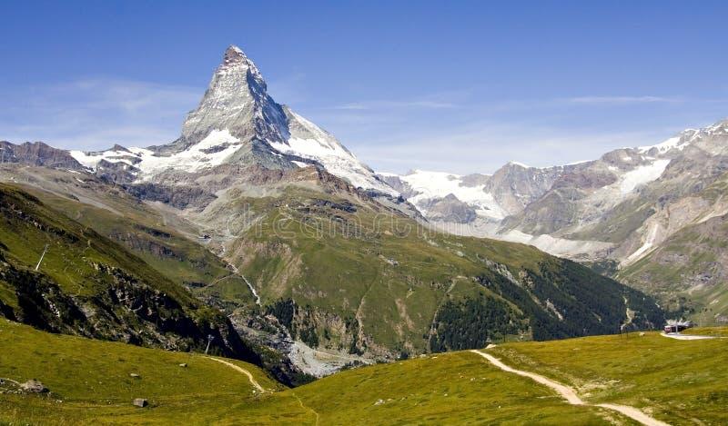 Montagnes suisses image stock