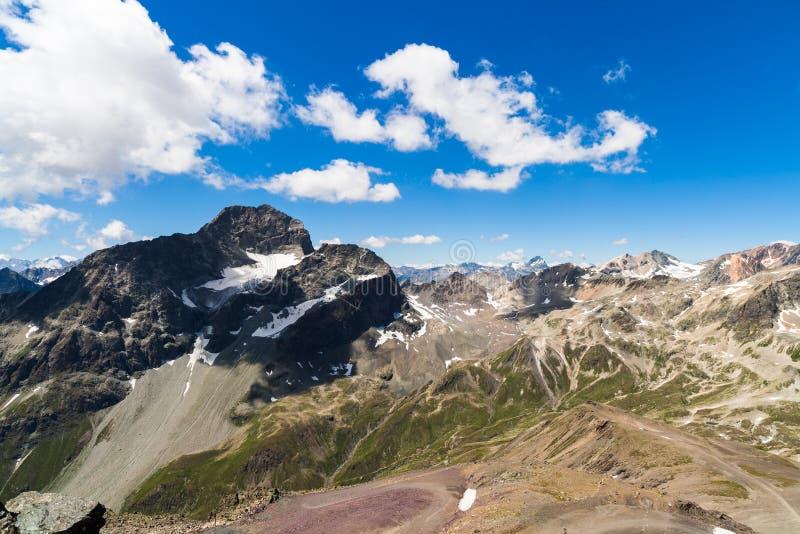 Montagnes suisses photo libre de droits