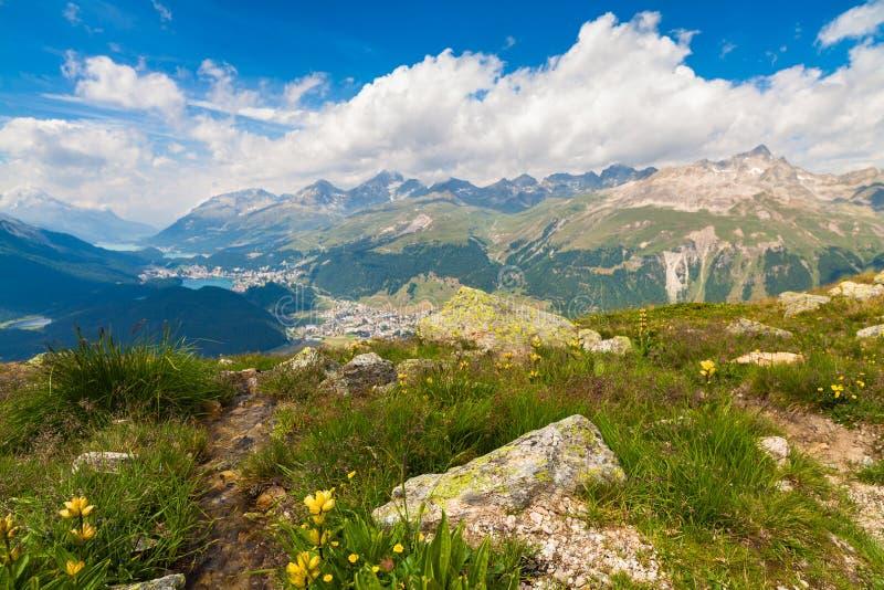 Montagnes suisses photos stock