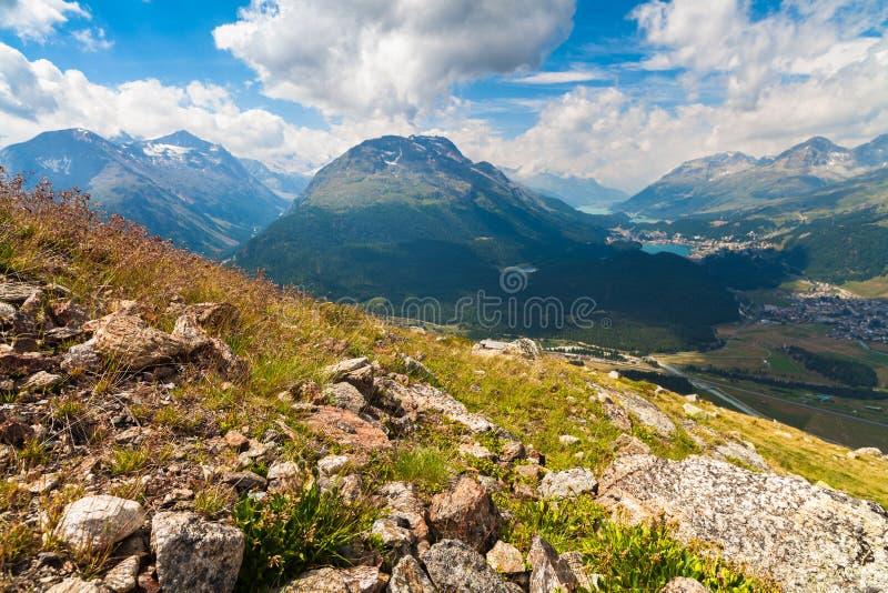 Montagnes suisses photos libres de droits