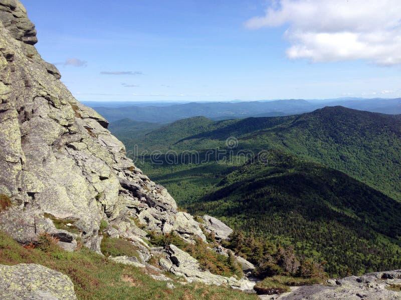 Montagnes vertes du Vermont photos stock