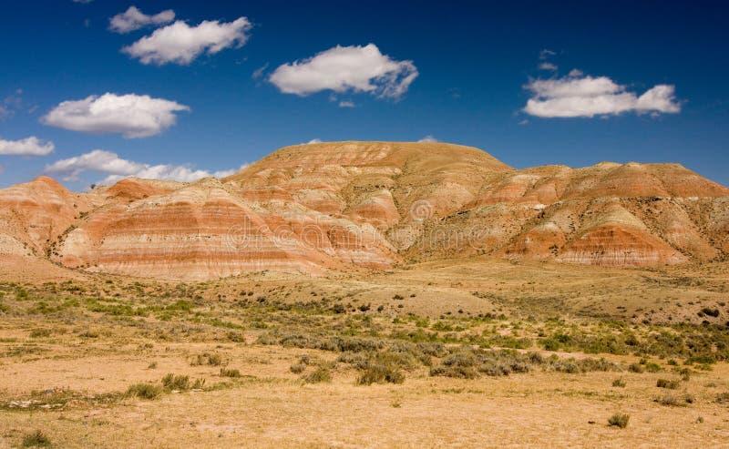 montagnes Wyoming de désert photo stock