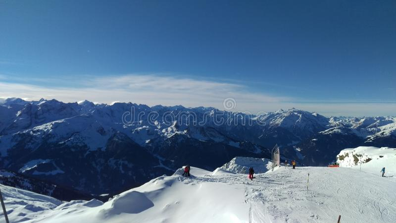 Montagnes Zillertal photographie stock libre de droits