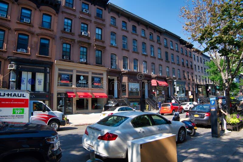 Montague Street, de Hoogten NYC -3 van Brooklyn stock fotografie