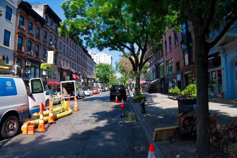 Montague Street, de Hoogten NYC -5 van Brooklyn stock foto