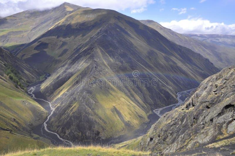 Montain in Aserbaidschan lizenzfreies stockfoto