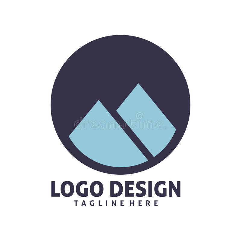 Montain logo ilustracja wektor