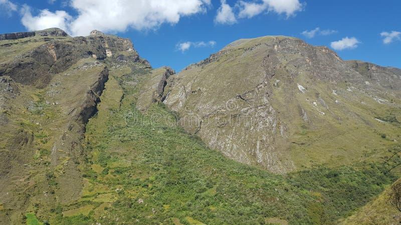 Montains Ancash Peru lizenzfreie stockfotografie