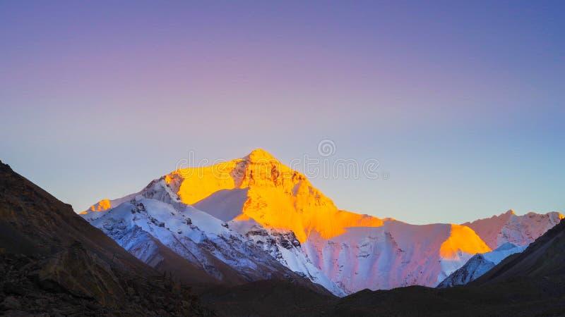 Montaje Everest fotos de archivo