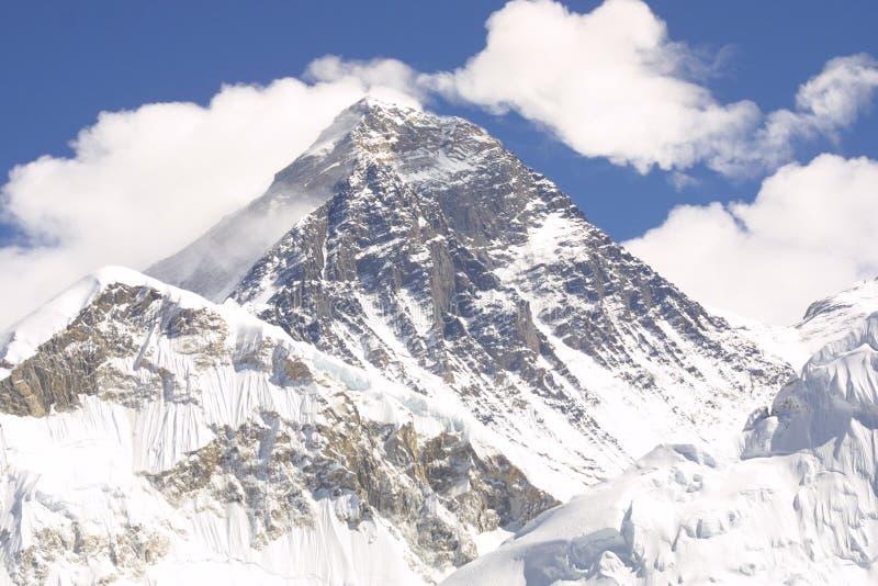 Montaje Everest 8848 M fotografía de archivo libre de regalías