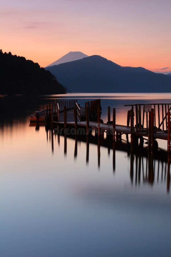 Montaje Fuji foto de archivo