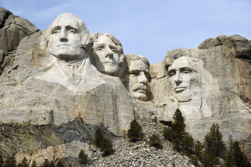 Montaje Rushmore. fotografía de archivo