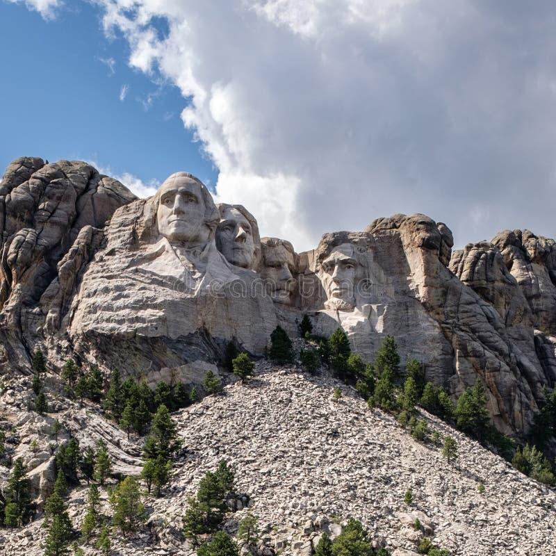Montaje Rushmore en Dakota del Sur fotografía de archivo
