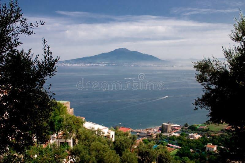 Montaje Vesuvio foto de archivo libre de regalías