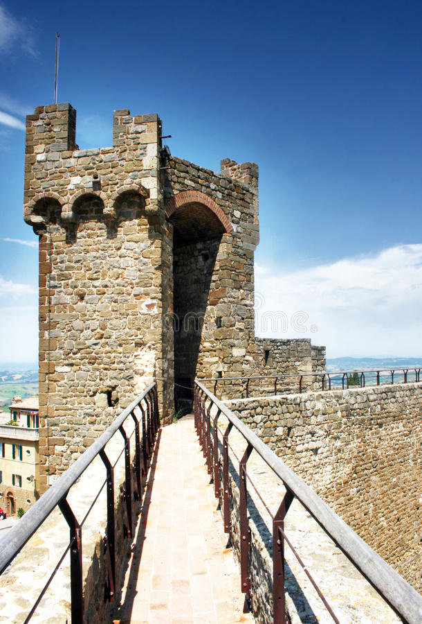 Download Montalcino Fortress stock image. Image of europe, italy - 25572213