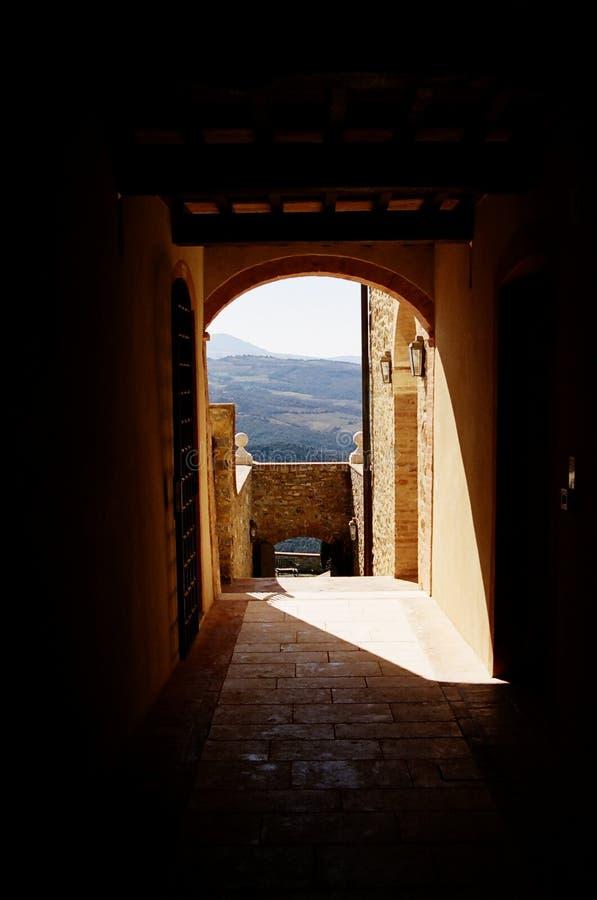Montalcino Italia fotografia stock
