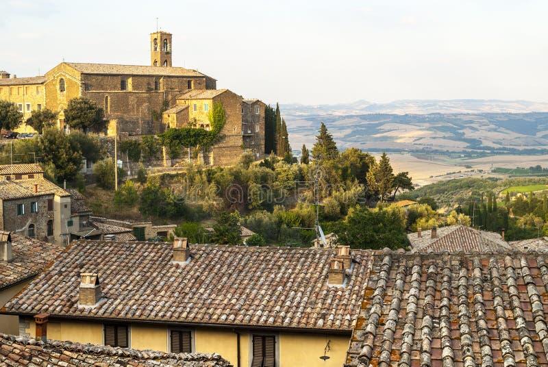 Download Montalcino (Tuscany) stock photo. Image of tree, tiled - 30319388
