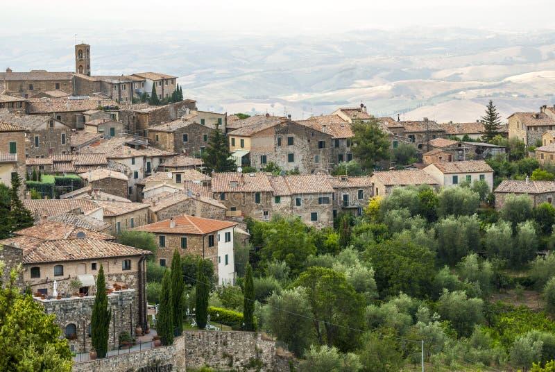Montalcino (Tuscany) Stock Photo