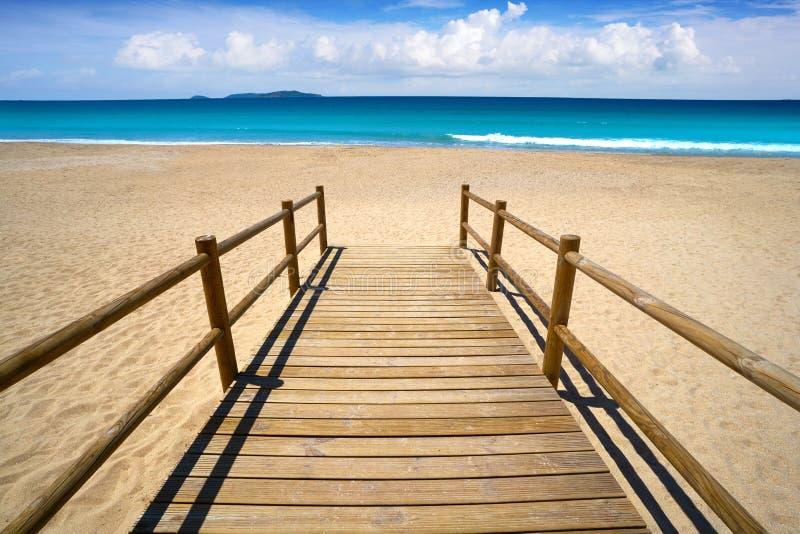 Montalvo beach in Pontevedra of Galicia Sanxenxo. Montalvo beach in Pontevedra of Galicia in Sanxenxo also Sanjenjo at Spain stock photo