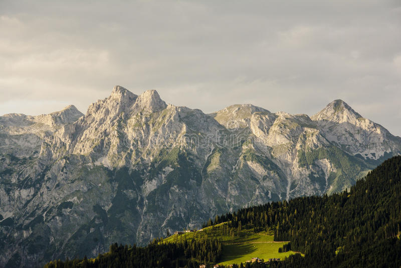 Montan@as austríacas imágenes de archivo libres de regalías