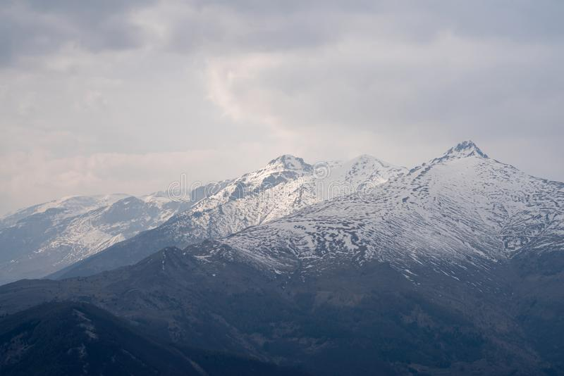 Montan@as ligures, Italia imagenes de archivo