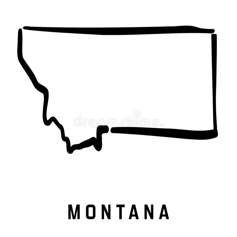 montana ilustração stock