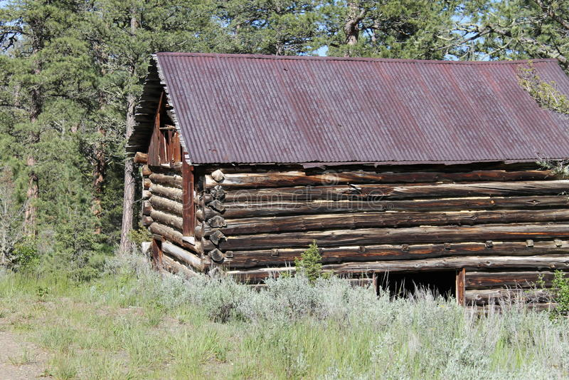 Montana Cabin imagen de archivo libre de regalías