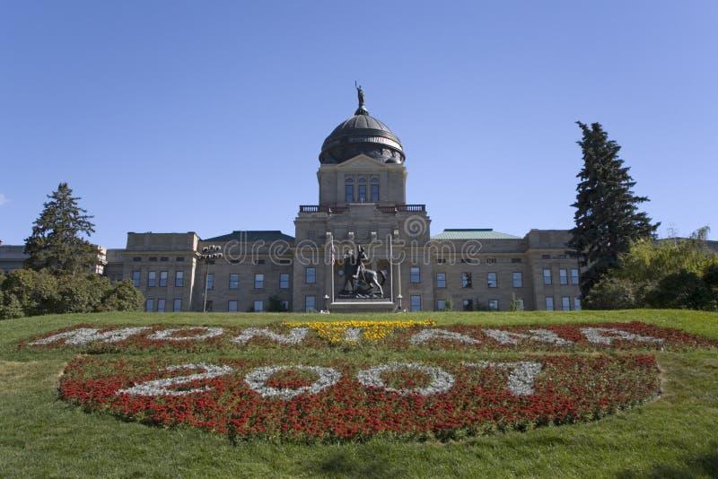 Montana - Capitólio do estado fotos de stock