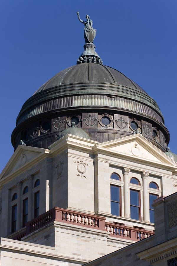 Montana - Capitólio do estado fotos de stock royalty free