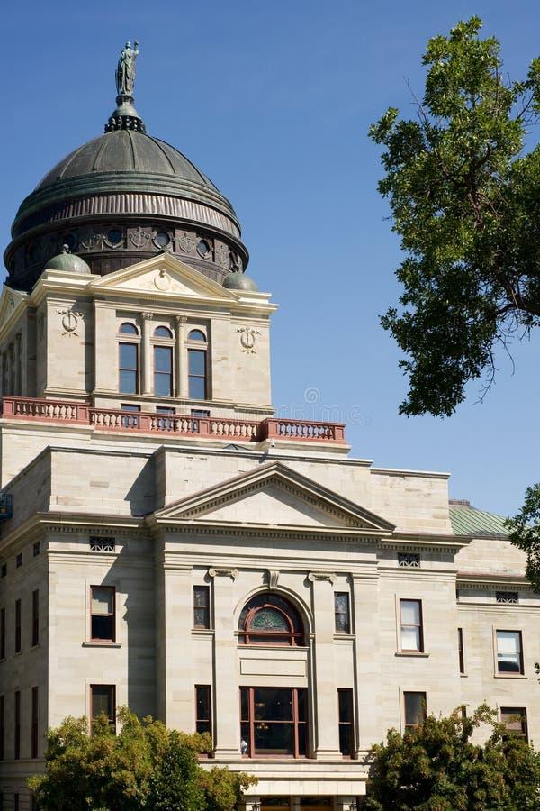 Montana Capitol royalty free stock photo