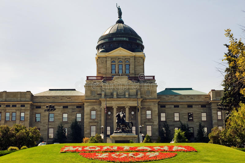 Montana Capitol stock photo