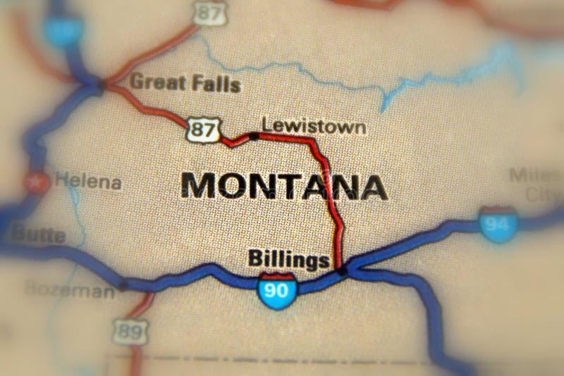 Montana, Estados Unidos U S imagem de stock