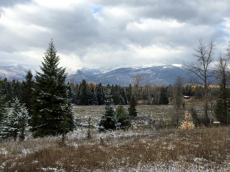 Montana Landscape stock image