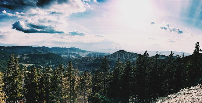 Montana Mountains royalty-vrije stock foto's