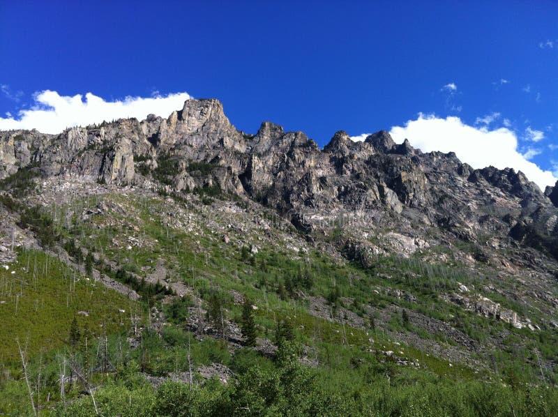 Montana Mountains fotografie stock libere da diritti