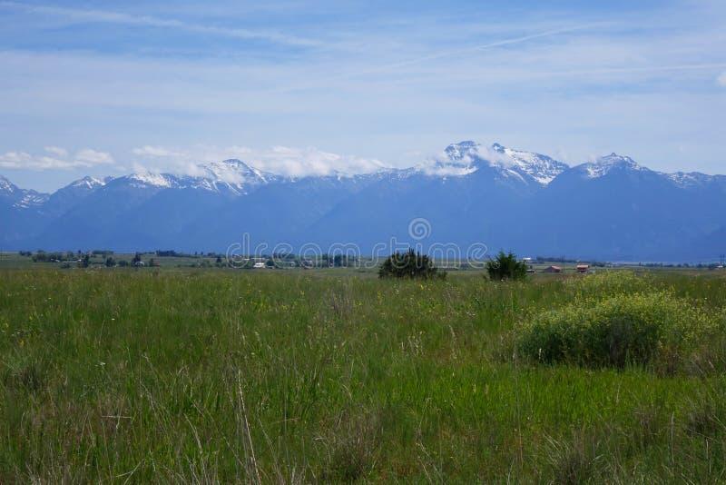 Montana Mountains photo libre de droits