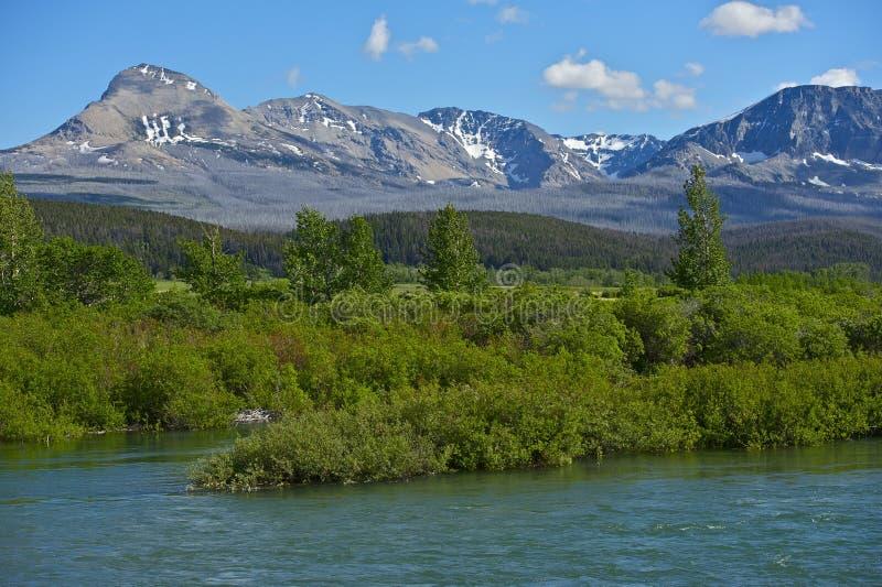 Montana Mountains cênico imagem de stock