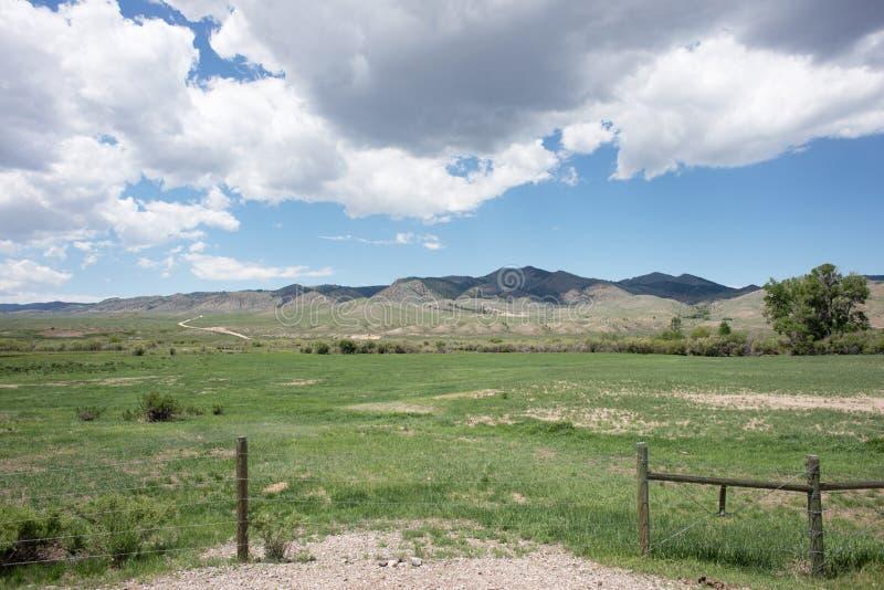 Montana Ranch royaltyfri fotografi