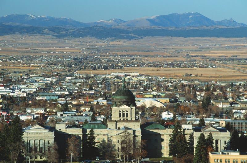 Montana stan Capitol obrazy stock