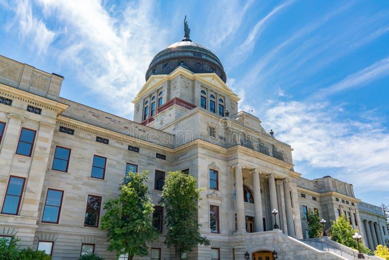 Montana State Capital Building arkivfoton