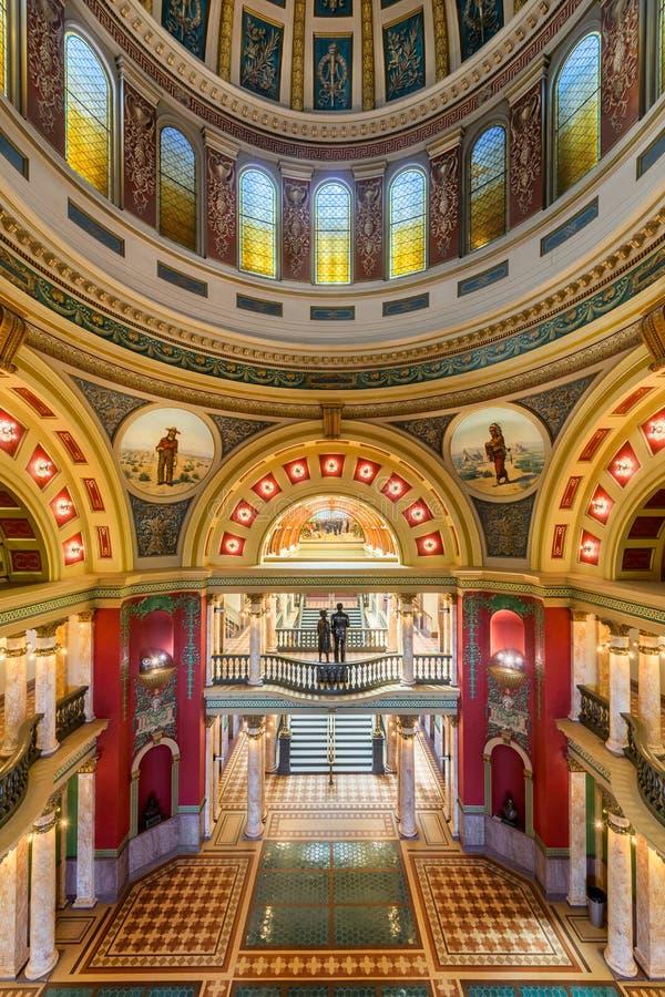 Montana State Capitol royaltyfri foto