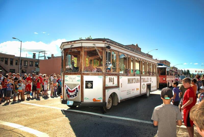 Montana Trolley arkivfoto