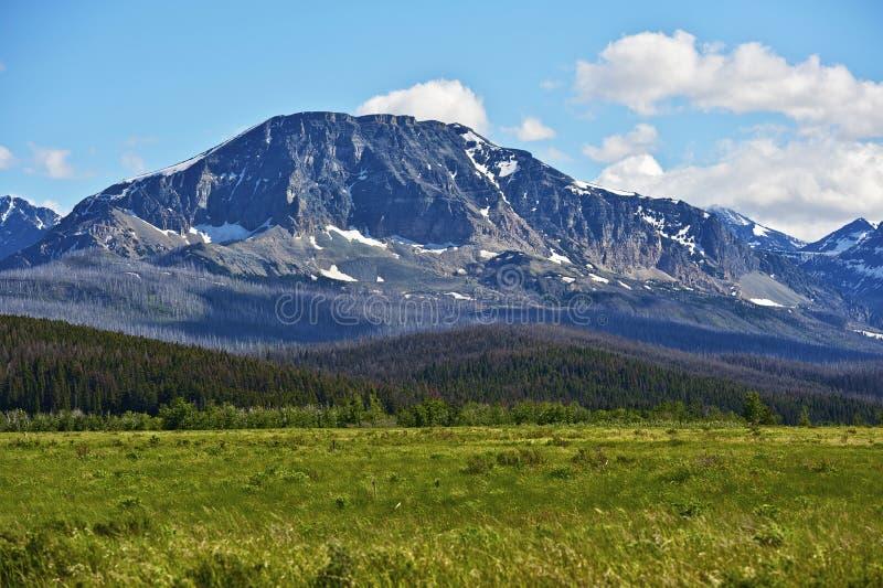 Montana United States. Summer Montana Landscape in Glacier National Park stock photos