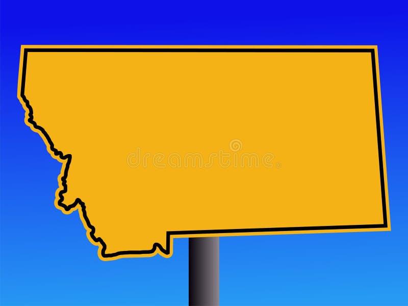 Download Montana warning sign stock vector. Illustration of indication - 3340120